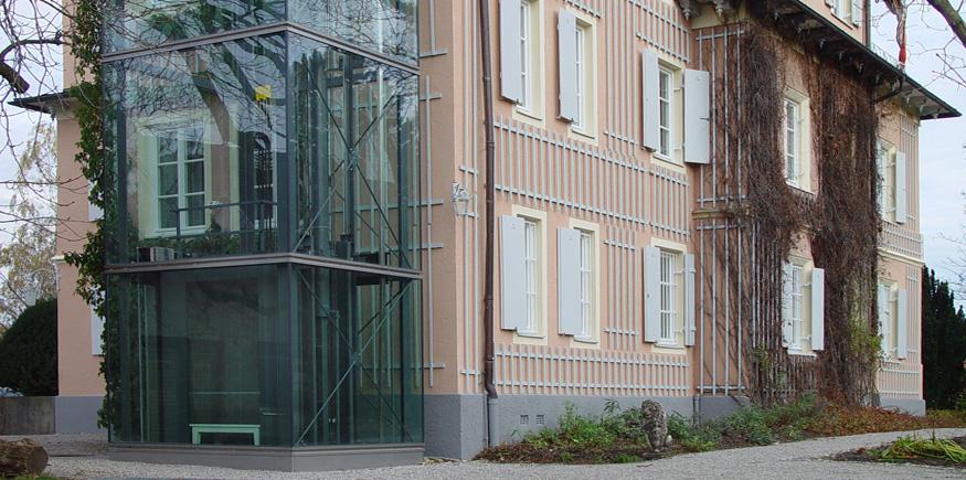Villa Linprun_Anbau Aufzug